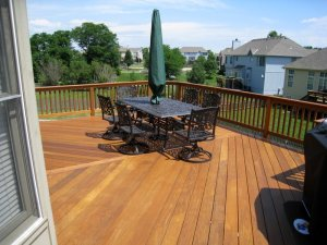 Ipe deck in Lees Summit MO