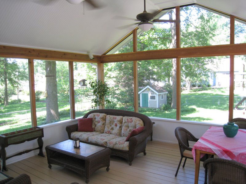 Sunroom Addition Enclosed Patio Screened In Porch