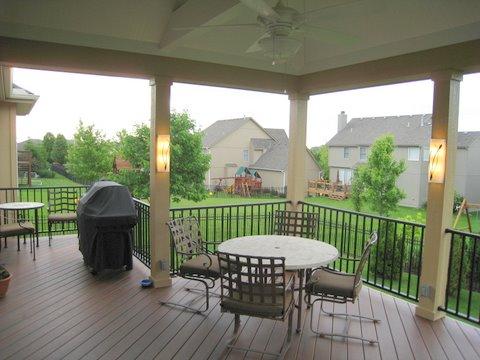 Open Porch Archadeck Of Kansas City