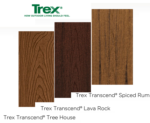 Composite decks archadeck of kansas city for Composite wood colors