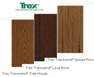 Trex Composite Kansas City Tree House Lava Rock and Spiced Rub