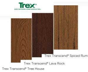 Trex Composite Kansas City Tree House Lava Rock and Spiced Rub