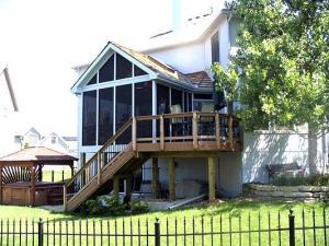 EverGrain Deck and Porch Combo in Overland Park, KS