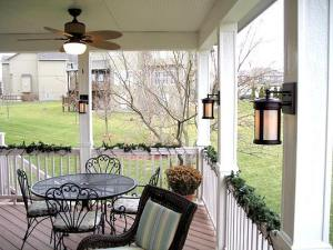 Overland Park Kansas Open Porch