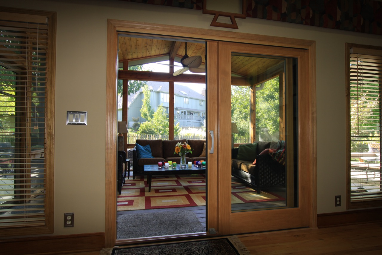 Composite decking archadeck of kansas city for Custom french doors