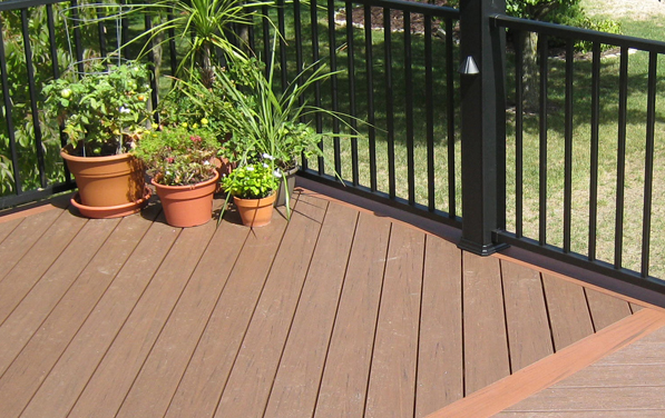 Azek archadeck of kansas city for Evergrain decking vs trex