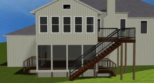 Kansas City Shawnee 4 season porch sunroom Archadeck