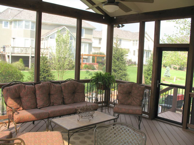 kansas city screened porch - Screen Porch Ideas Designs