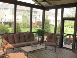 Kansas City screened porch