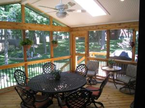 Velux skylights Overland Park KS screen porch