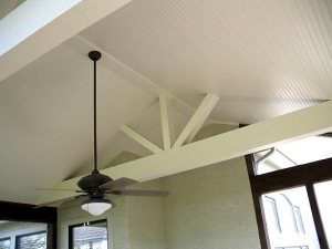 screened porch ceiling Kansas City