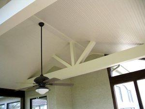screened porch ceiling Kansas City
