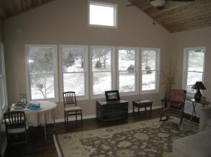 spacious bright sunroom Shawnee KS