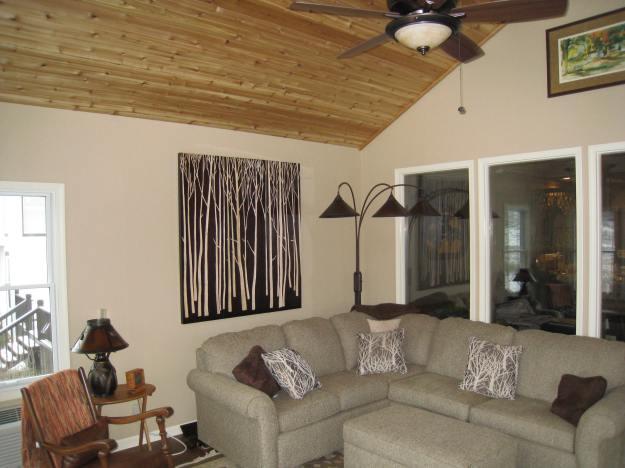Vaulted ceiling sunroom Shawnee KS