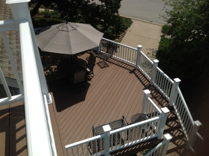 large AZEK deck Shawnee KS by Archadeck lr