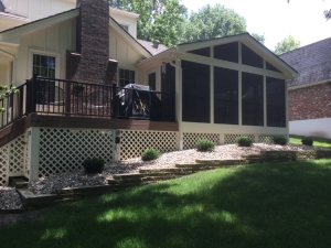 Leawood KS porch and AZEK deck lr