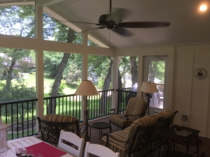 screened porch builder Leawood KS lr