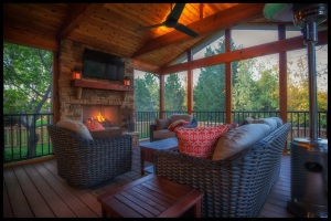 screen porch builder Leawood KS